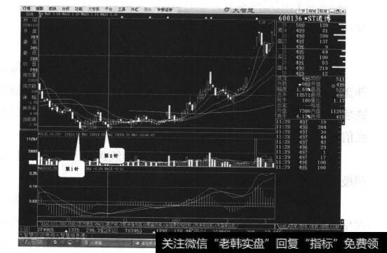 [股票双针探底]双针探底,后市可期案例三解析