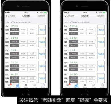 哪款手机炒股软件支持自编选股公式选股?